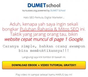 content writing promo dumetschool