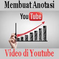 Membuat Anotasi Video di Youtube