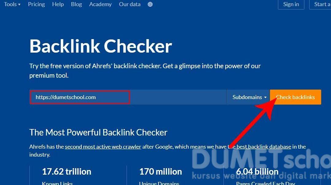 Mencari Sumber Backlink Hanya Dengan 1 Cara Gratis